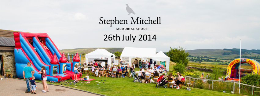 Stephen Mitchell Memorial Shoot - Open Clay Pigeon Shoot and Family Fun Day in Middleton-In-Teesdale.